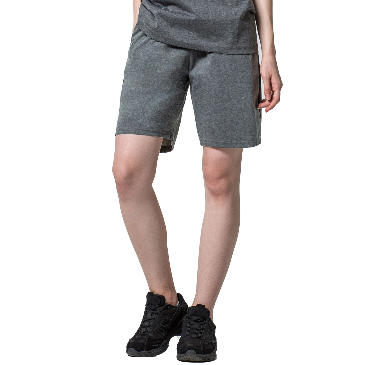 [HP3004] <BR> Gray Diet Jogger Short Bottoms