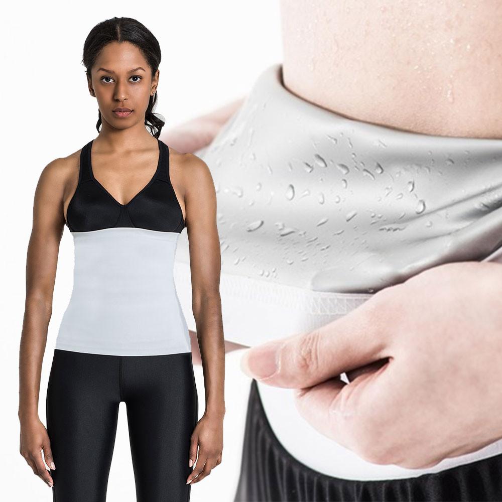[FG9001] <BR> Flexgear White Women's Belt