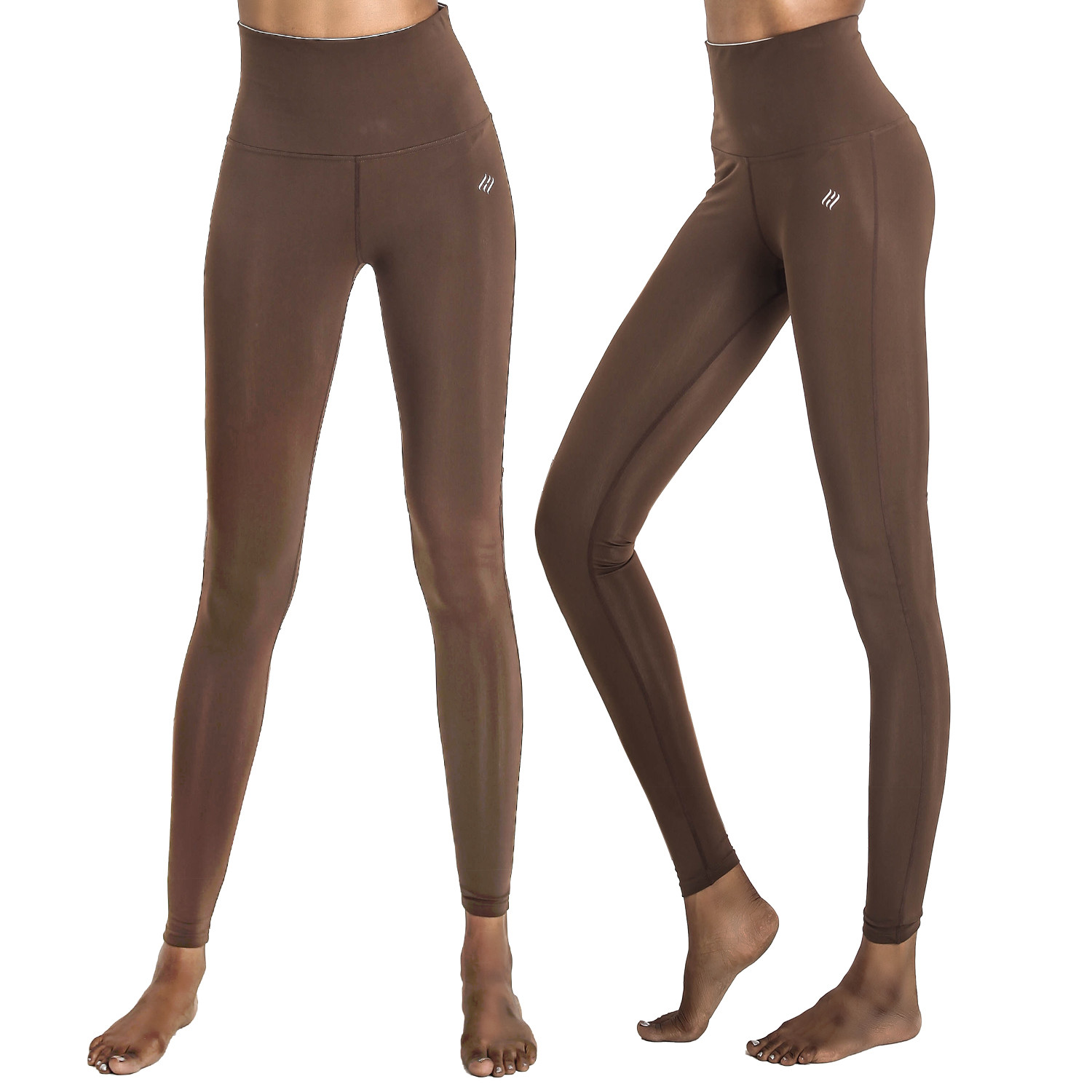 [PP4004] <br> R Brown Yoga Sweatpants Leggings