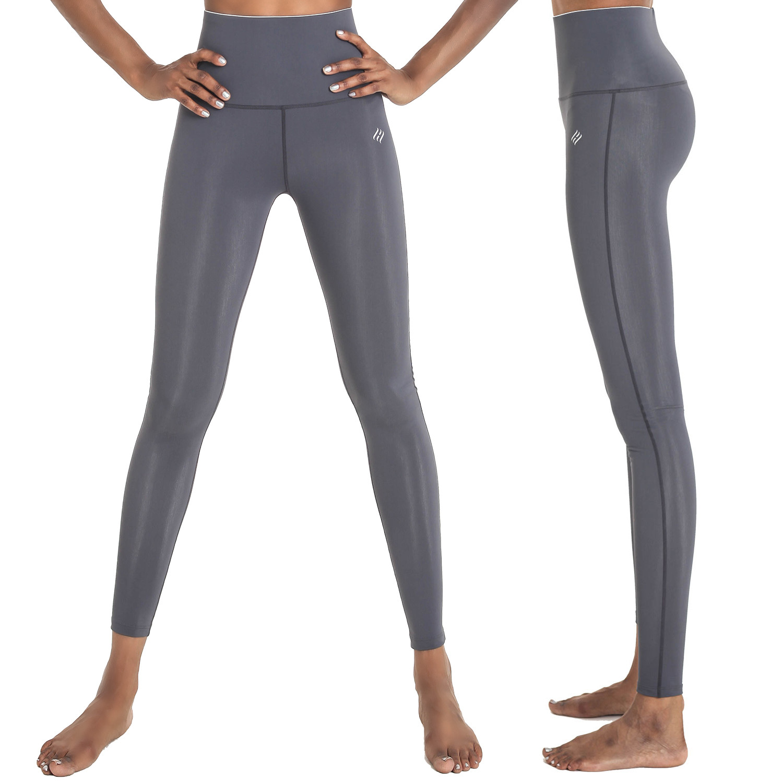 [PP4003] <BR> R Gray Yoga jogging Leggings
