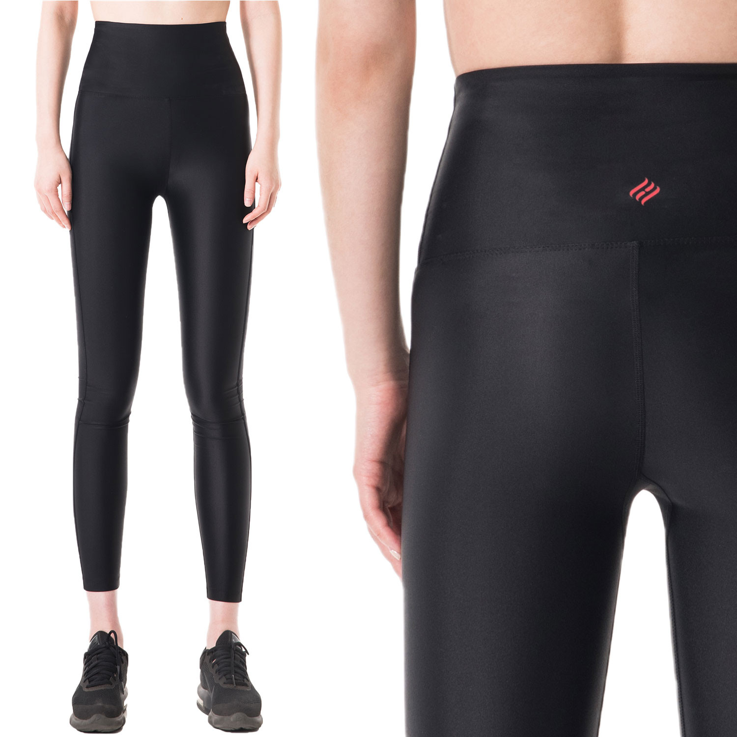 [PP4001] <br> R Black Yoga Jogging Leggings